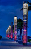 Lanters à praia imagem de stock royalty free