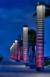 Lanters aan het strand royalty-vrije stock afbeelding