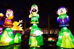 Lanters chineses do ano novo Fotografia de Stock Royalty Free