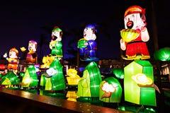 Lanters chinois de nouvelle année Photo stock