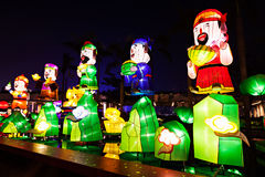 Lanters chinos del Año Nuevo Foto de archivo