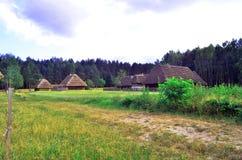 Lantgård Fotografering för Bildbyråer