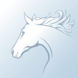 Lantgård för häst Head Royaltyfri Illustrationer