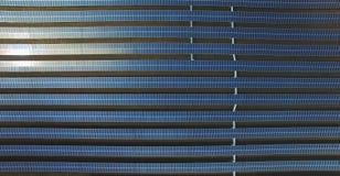 Lantgård för sol- cell fotografering för bildbyråer