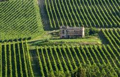 Lantgård i Italien Arkivbild