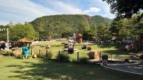 Lantgård II för får för plats för landskaptappninglantgård royaltyfri bild