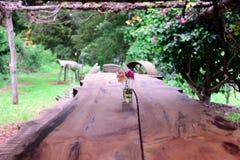 Lantgård som ska bordläggas Royaltyfri Bild