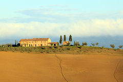 lantgård tuscan Royaltyfri Bild