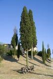 lantgård tuscany Fotografering för Bildbyråer