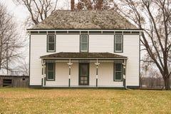 Lantgården: Familjlantgårdhem av presidenten Harry S truman Arkivbild