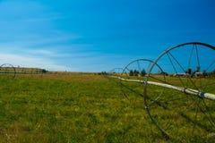 Lantgårdfält Arkivbild