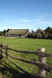 lantgårdfältet mal gammalt Royaltyfria Bilder