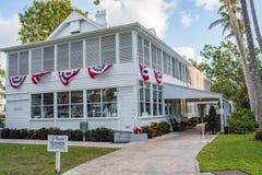 lantgårdgrandview harry huset missouri s truman Truman Little White House arkivbilder