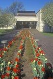 lantgårdgrandview harry huset missouri s truman Truman Presidential Library självständighet, MO arkivbilder