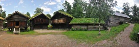 lantgårdhus norway norska gammala oslo Royaltyfri Foto