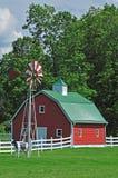 lantgårdhus USA royaltyfri fotografi