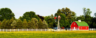 lantgårdhus USA Royaltyfria Foton