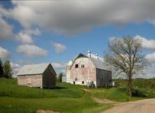 lantgårdplats arkivbilder