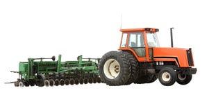 lantgårdtraktor Arkivbild