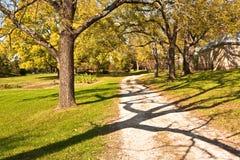 lantgårdvägen befläcker Royaltyfri Foto