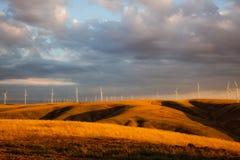 lantgårdwindmill Arkivfoton