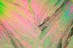 Lanthannitrat unter dem Mikroskop Stockbild