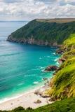 Lantic Bay Cornwall England Royalty Free Stock Photography