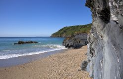 Lantic Bay, Cornwall Stock Images