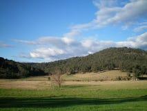 lantlig australiensisk liggande Fotografering för Bildbyråer