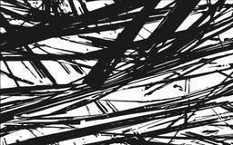 Lantlig bakgrund för svartvit gräskonturtextur vektor illustrationer