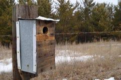 lantlig birdhouse Royaltyfri Foto