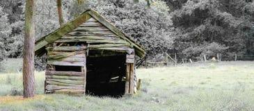 Lantlig cabine royaltyfri fotografi