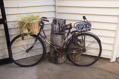 Lantlig cykel Royaltyfri Bild