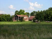 lantlig farmstead Royaltyfri Foto