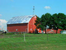 lantlig farmstead Royaltyfri Bild