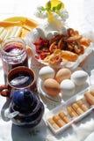 lantlig frukost Royaltyfria Bilder
