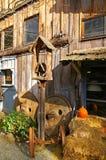 lantlig gård för bard Royaltyfria Bilder