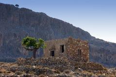 lantlig greece liggande arkivbilder