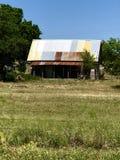 Lantlig hydda Texas Arkivfoto