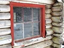 lantlig kabin Arkivfoto