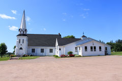Lantlig kyrka Royaltyfria Foton