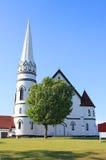 Lantlig kyrka Royaltyfri Foto