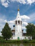 Lantlig kyrka Arkivbild