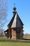 Lantlig kyrka av 18 ögonlock. Arkivbild