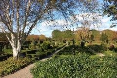 lantlig kyrkogård Arkivfoto
