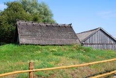 Lantlig lantgård Fotografering för Bildbyråer