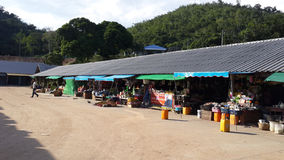 Lantlig marknadsplats Royaltyfri Bild