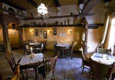 lantlig restaurang Arkivbild