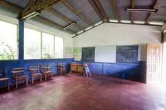 lantlig skola för nicaragua lokal Royaltyfri Fotografi