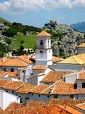 lantlig spansk town Royaltyfri Bild